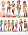 Hipster Princesses - disney-princess photo