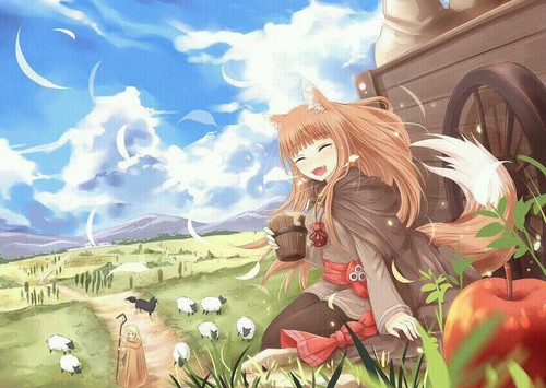 Anime wallpaper called Holo