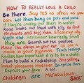 How to really love a child. ♥