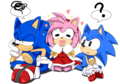 In heaven - sonic-and-amy photo