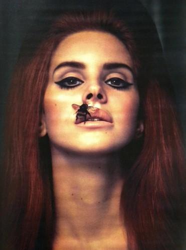 Lana Del Rey karatasi la kupamba ukuta entitled Interview Magazine scans: Lana Del Rey