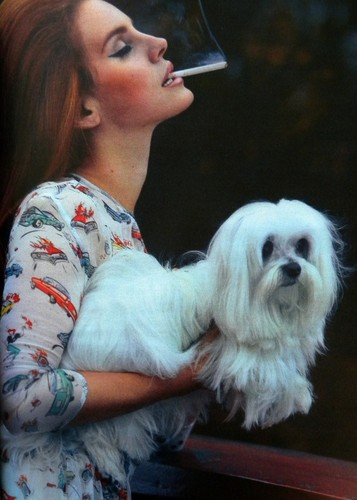 Interview Magazine scans: Lana Del Rey