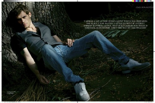 Joseph morgan - August Man magazine