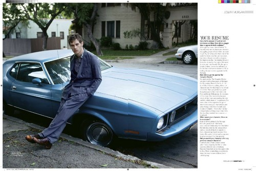 Joseph morgan - August Man magazine