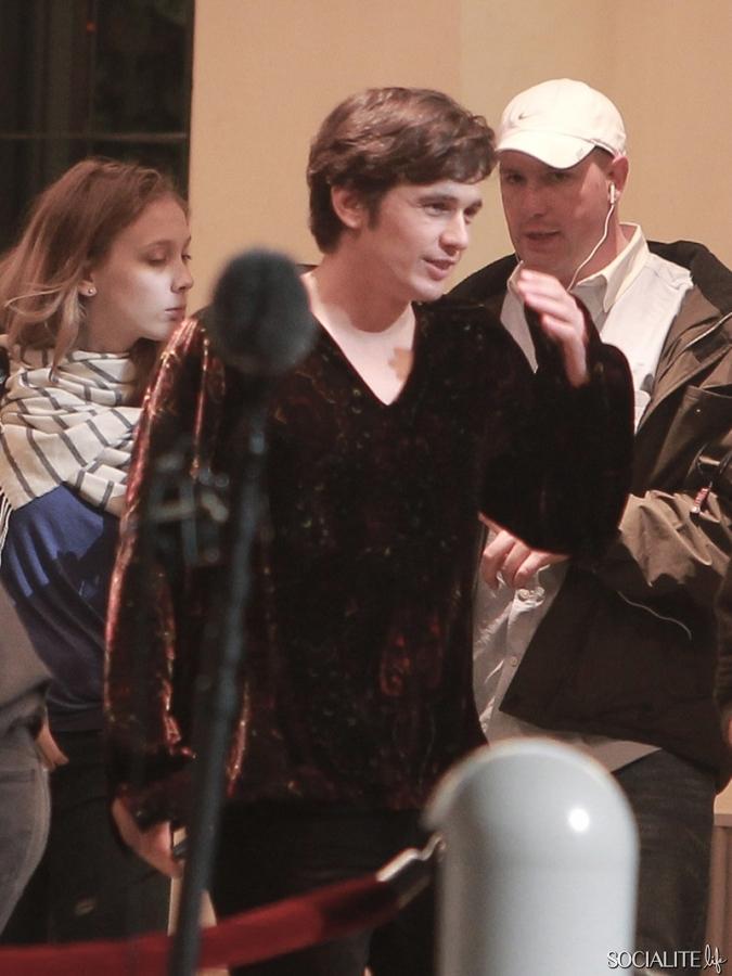 James Franco Dressed As Hugh Hefner On 'Lovelace' Set