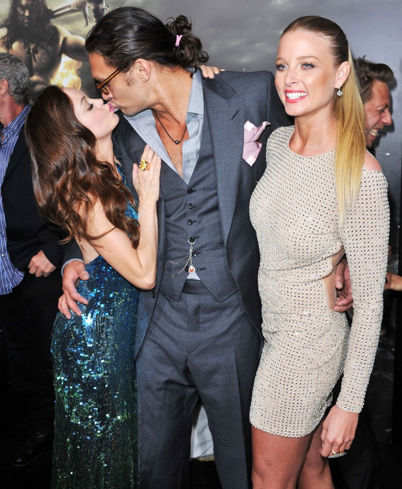 Jason Momoa, Rose McGowan And Rachel Nichols