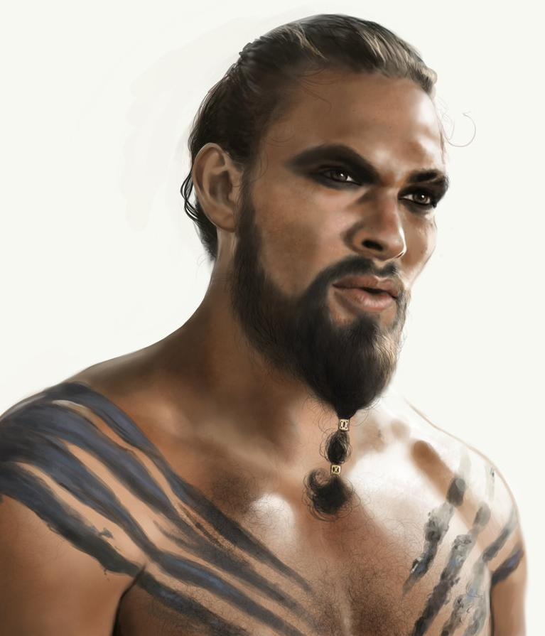 Jason Momoa Game Of Thrones: Jason Momoa By Emily Hare At Www.wavingmonster.com