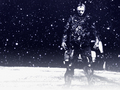 Jason in the Snow - friday-the-13th wallpaper