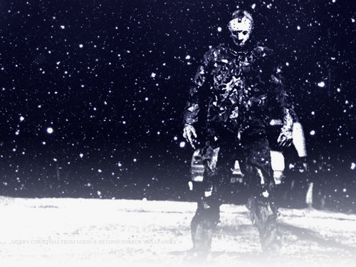 Friday the 13th wallpaper titled Jason in the Snow