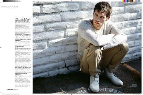 Joseph - Magazine Scans - August Man Magazine 2012