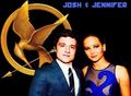 Josh & Jennifer  - jennifer-lawrence-and-josh-hutcherson fan art