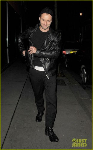 Jude Law: Late Night Soho Stroll