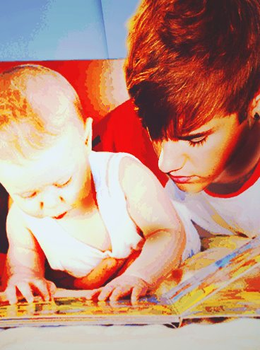 Justin Bieber & Jaxon Bieber