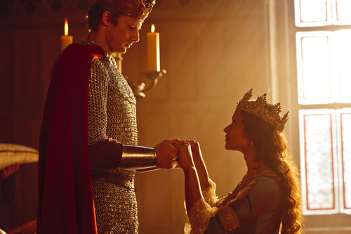 King Arthur and 퀸 Guinevere