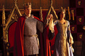 King Arthur and Queen Guinevere - merlin-on-bbc photo