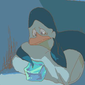 Kowalski with frozen Jiggels