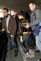 Kristen Stewart arrives at the Airport in Paris, Jan 29