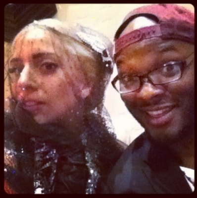 Lady Gaga at Vincent Herbert's birthday party