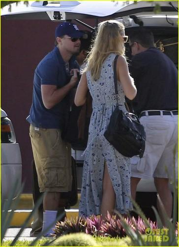 Leo DiCaprio & Erin Heatherton: Mexico Vacation!