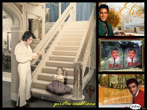 Lisa Daddy Elvis Aaron Presley And Lisa Marie