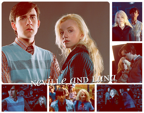 Neville and Luna images Luna and Neville wallpaper and ...