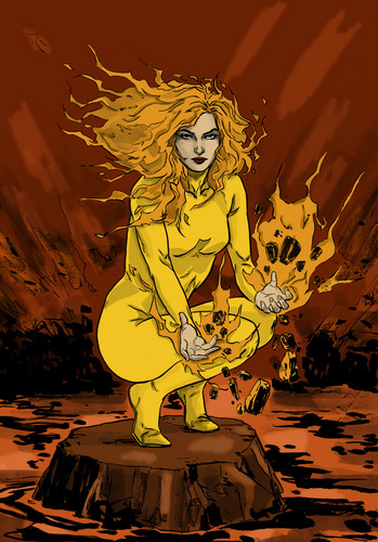 X Men Magma Women of the X images ...