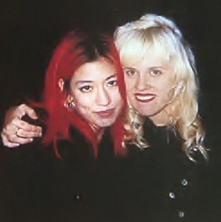 Miki Berenyl (Lush) and Kat Bjeland (Babes In Toyland) - female-rock-musicians Photo