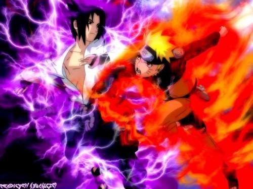 naruto vs Sasuke Shippuden Sparks