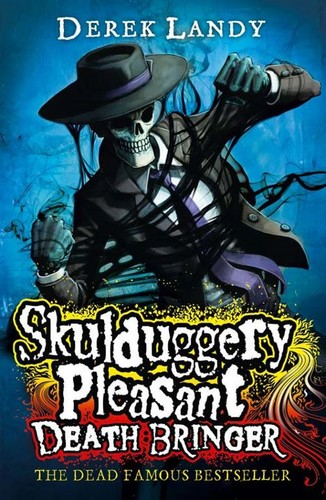 Skulduggery Pleasant kertas dinding with Anime called New DB cover