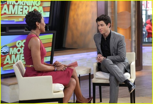 Nick Jonas: 'Good Morning America' to 'Live With Kelly'