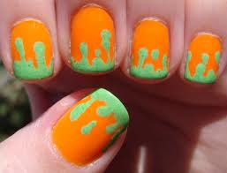 Nickelodeon Nail Art