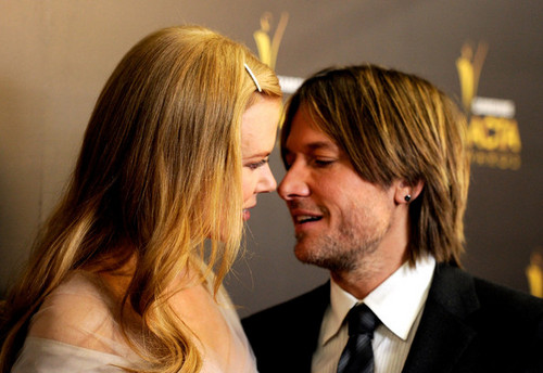 Nicole and Keith - Australian Academy Of Cinema And 电视 Arts' 1st Annual Awards