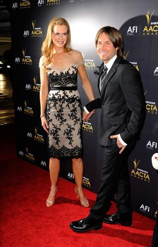 Nicole and Keith - Australian Academy Of Cinema And ویژن ٹیلی Arts' 1st Annual Awards
