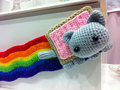 Nyan Cat knitted toy - nyan-cat photo