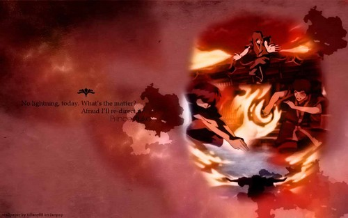 Avatar: The Last Airbender wallpaper possibly with a fire and anime titled Prince Zuko