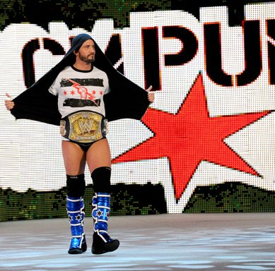 Punk entrance Royal Rumble 2012