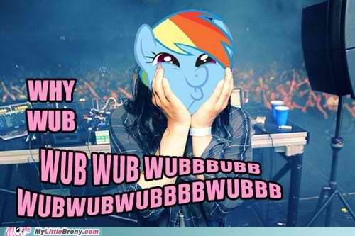Rainbowdub - skrillex Photo