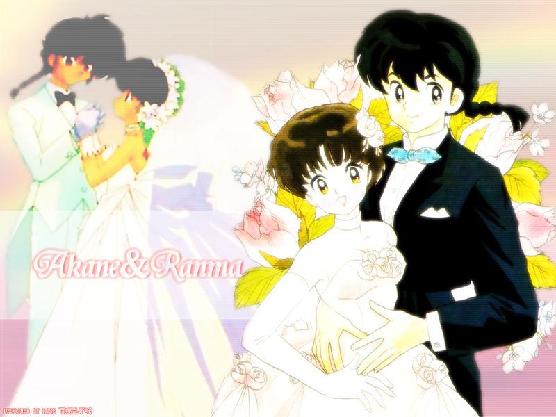 Ranma amp akane anime wallpaper 28631754 fanpop