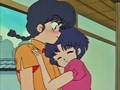 Ranma and Akane (cute) - ranma-1-2 screencap