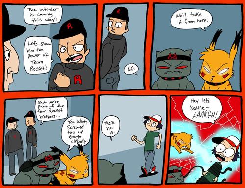 Rocketchu Comic
