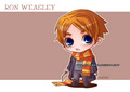 Ron Weasley - books-male-characters fan art