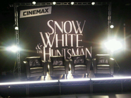 SWATH Cinemax stage