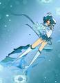 Eternal Sailor Mercury - anime fan art