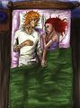 I just want to lie down with you and wake up with you, just once  - the-mortal-instruments-series-fanatics fan art