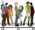 Shadowhunters and Downworlders - the-mortal-instruments-series-fanatics fan art