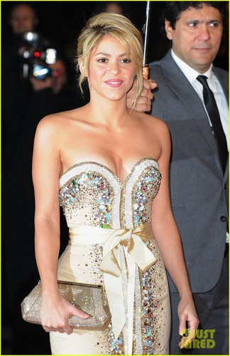 Shakira: NRJ Awards & Ministry of Culture Ceremony! - shakira Photo