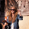 Shenae Grimes Foto probably containing a street, a hip boot, and a shirtwaist titled Shenae ♥