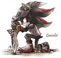 Sir Lancelot - shadow-the-hedgehog fan art
