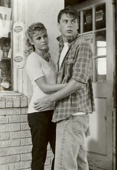 The Outsiders Rob Lowe Shower Sodapop Curtis images ...