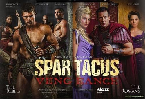 Spartacus: Vengeance- Promo foto